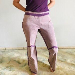 Unique Jane Doe Leather Pants